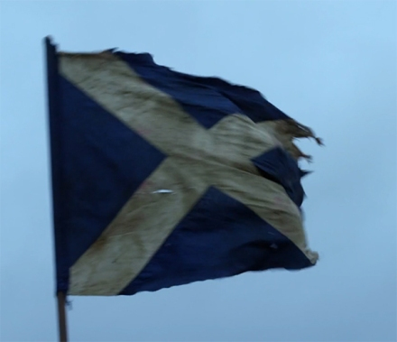 Title Card - Scottish Flag