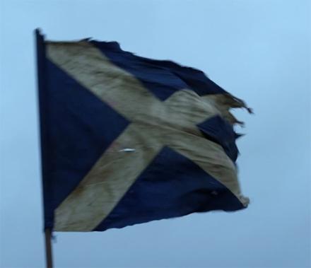Title Card - Scottish Flag